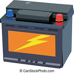 batería del carro
