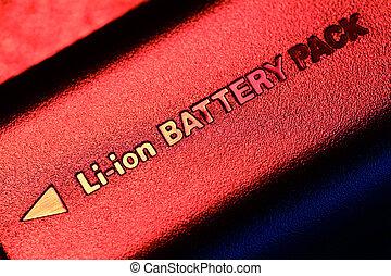 batería, paquete