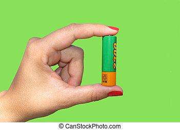 batería, rechargeable