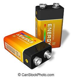 baterías, 9v