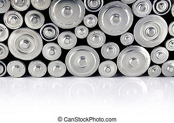 baterías, pila