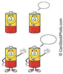 bateria, 1, -, zbiór, litera