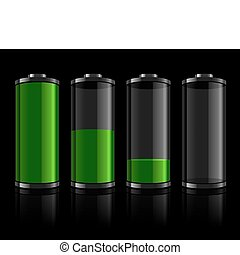 bateria, níveis, jogo