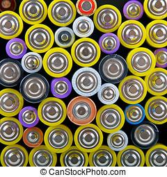 baterias, montão