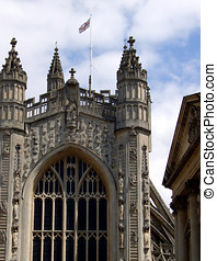 Bath Cathedral. Abbey Church of Saint Peter and Paul