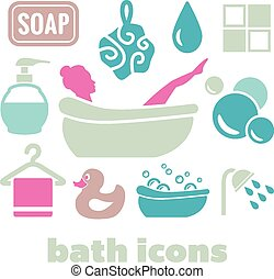 bath icons