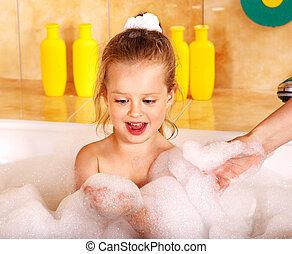 bath., lavaggio, capretto