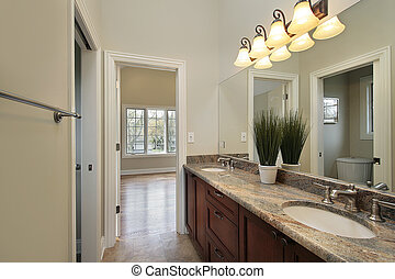 Bath room in new construction home