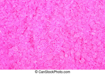 Bath salts pink to use as wallpaper
