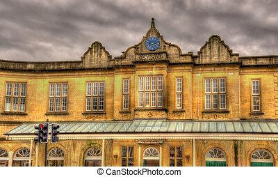 Bath Spa railway station - South West England