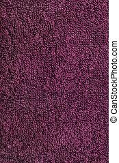 Bath towel, crimson, pink, vine, raspberry, red, natural plush terry cloth turkish / beach textured fabric macro background closeup texture vertical pattern