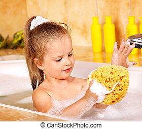 bath., wäsche, kind