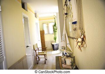 bathhouse, praia, cabanas, privado