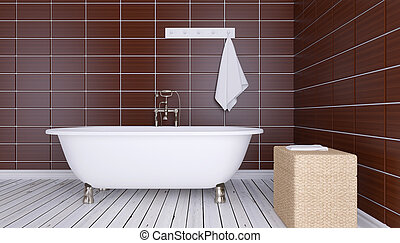 bathroom., 3d, デザイン, render, minimalistic