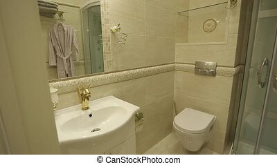 Bathroom in apartments