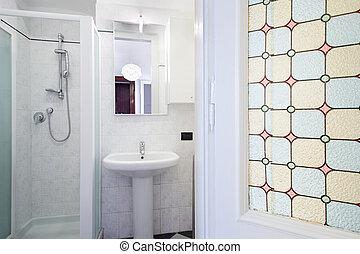 Bathroom in small apartment