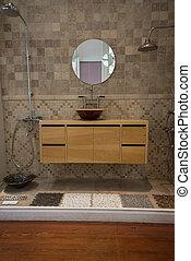 Bathroom, interior and furniture Design. - Modern design at...