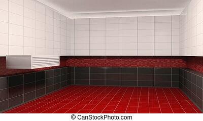 Bathroom interior creation