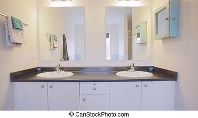 Bathroom Interior Design - Interior design of a bathroom in...