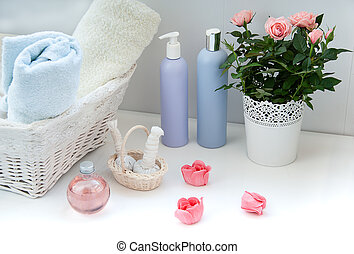 bathroom items for spa