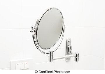 bathroom., lustro