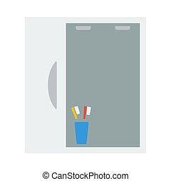 Bathroom Mirror Icon