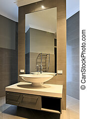 Bathroom - Modern bathroom design.