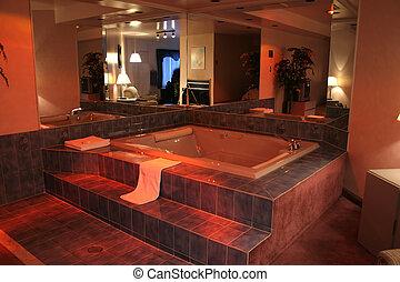 bathroom., moderne