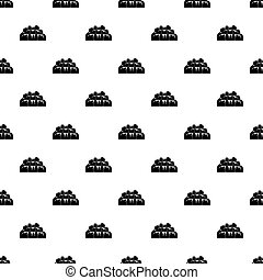 Bathroom pattern vector