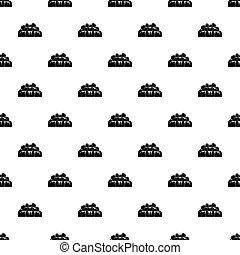 Bathroom pattern vector