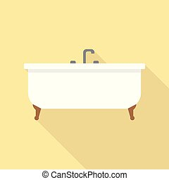 Bathtub Icon | Set of great flat icons use for multimedia, technology, concept, animation and much more.
