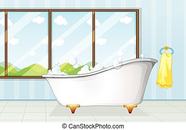bathtube, banheiro