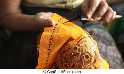 Batic manufacture