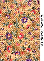 batik, indonesiano, sarong