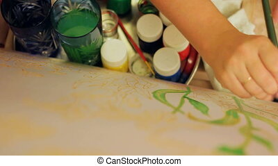 batik, peinture