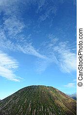 batok - Batok mountain near the crater Bromo, East Java, ...