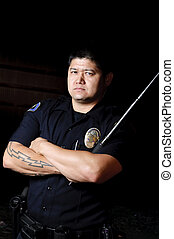 baton police