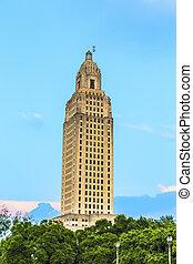 Baton Rouge, Louisiana - State Capitol building