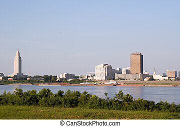 Baton Rouge Skyline - skyline of Baton Rouge, Louisiana, ...