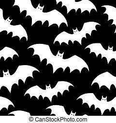 bats., seamless, fond