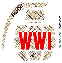 battaglie, mondo, azione, militare, guerra, mostra