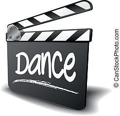 battant, danse, planche