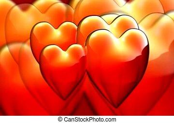 battement, amour, coeur
