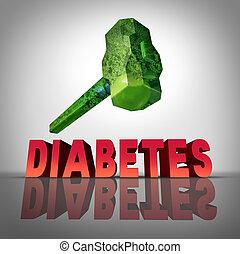 battement, diabète