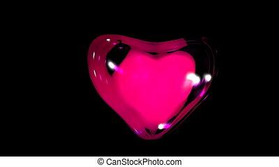 battement, heart.