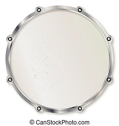 Batter Head - Drum batter head with tuning screws and hit...