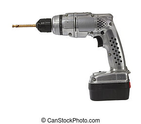 Battered retro battery drill - Well used classic retro style...