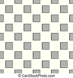 batteri, mönster, seamless, cell, vektor, sol