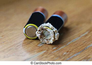 batteria, leakage, li-ion