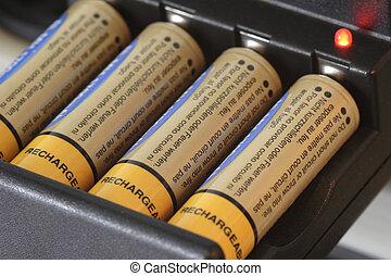 batterie, chargeur, 01